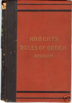 Pictures Of Robert S Rules Of Order
